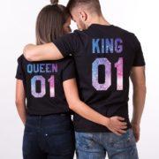 King Queen 01, Black, Galaxy
