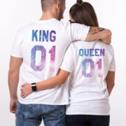 King Queen 01, White, Galaxy