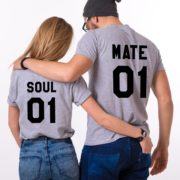 Soul 01, Mate 01, Gray/Black