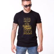 Dad of the Year Shirt, Black/Gold