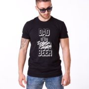 Dad of the Year Shirt, Black/White