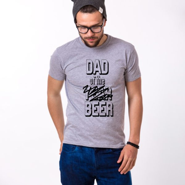 Dad of the Year Shirt, Gray/Black