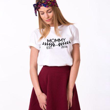 Mommy Est. Shirt, Mommy Shirt, Mom Shirt, Single Shirt