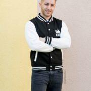 Varsity Jacket, King 01, Front