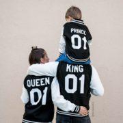 Varsity Jacket, King 01, Queen 01, Prince 01