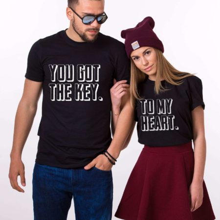 You Got the Key to My Heart Shirts, Matching Couples Shirts