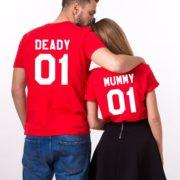 Deady 01 Mummy 01, Halloween Shirts, Matching Family Shirts, UNISEX