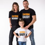 Family Halloween Shirts, Zombie Daddy, Zombie Mommy, Zombie Baby