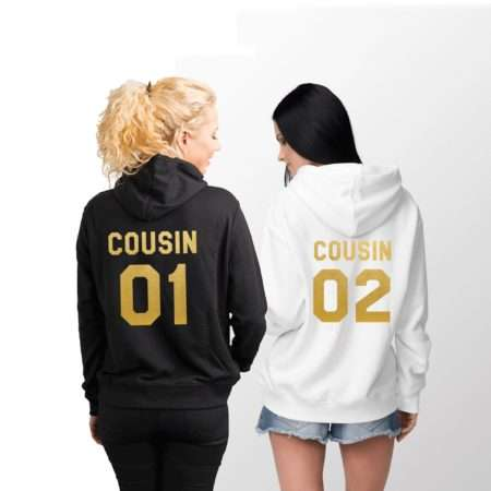 Cousin 01 Cousin 02 Hoodies