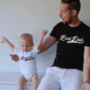Best Dad Best Son Shirts, Matching Daddy and Me Shirts