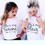 She's my Serena, She's my Blair, White/Black