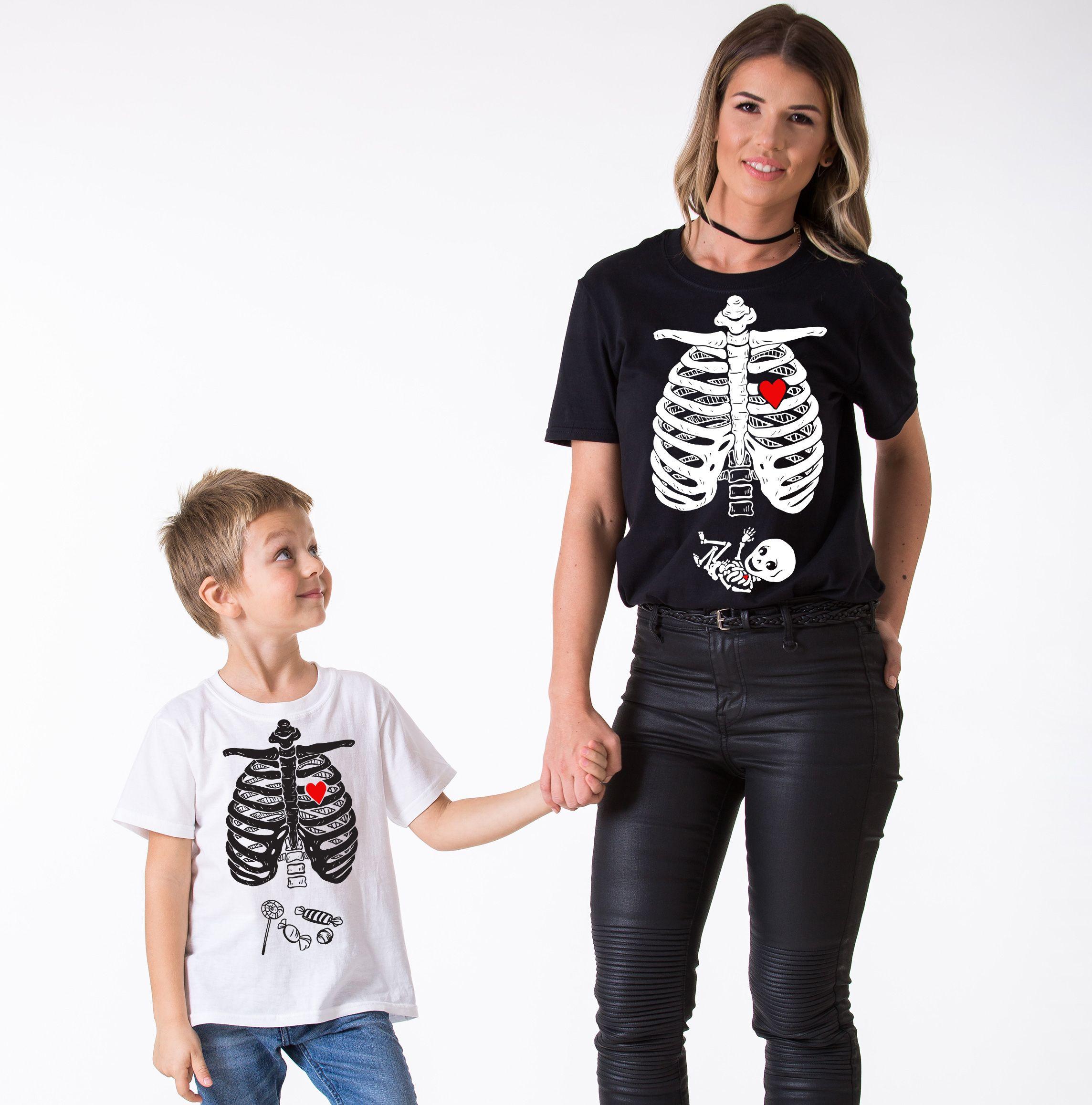 Halloween Family Shirts, Skeleton Shirts, Maternity Shirt