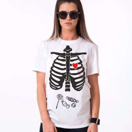 Halloween Candy Shirt, Lollipop Shirt, Skeleton Shirt, Halloween Shirt