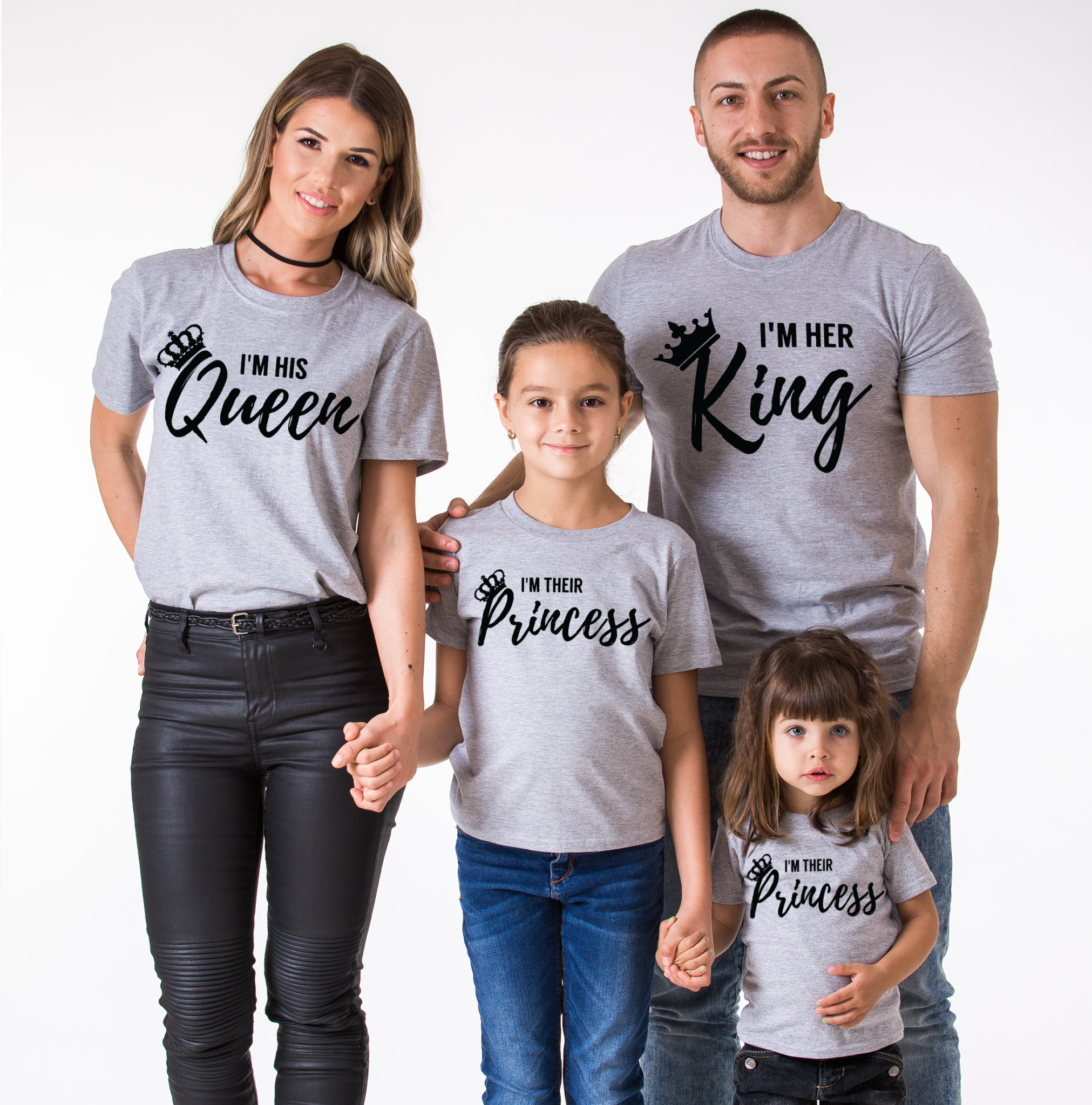 ecf16f8a2a King Queen Family, Her King, His Queen, Their Prince, Their Princess