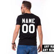 Custom shirt, Personalized name shirt, Custom numbers shirt, Any name, Any number, UNISEX