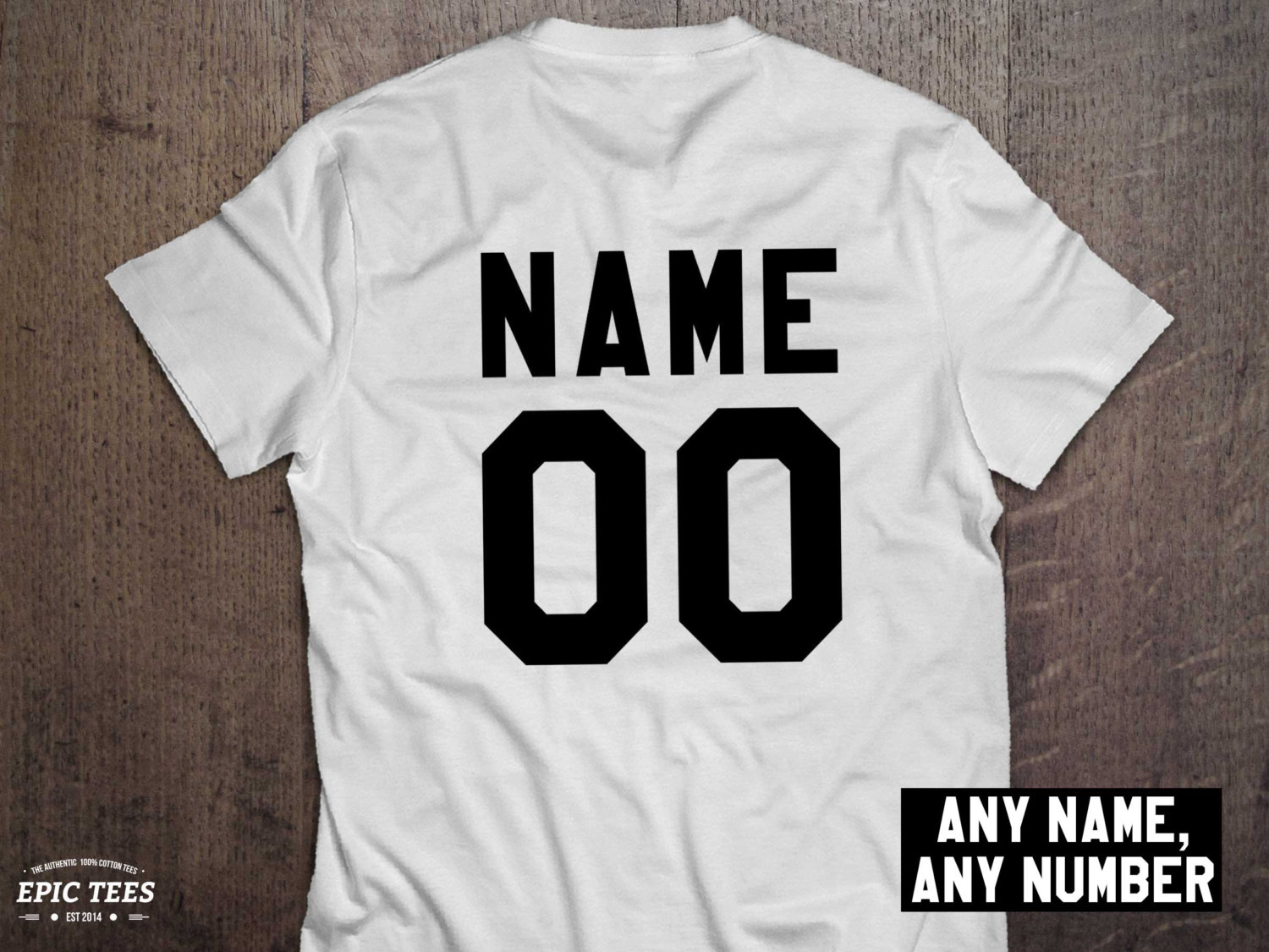 Custom name and number shirt awesome matching shirts for for Custom single t shirts