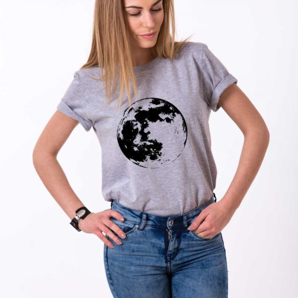 Moon Shirt, Gray/Black