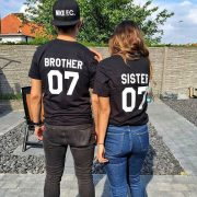 Brother Sister 01, Black/White