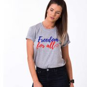 Freedom for All, Gray/Blue/Red