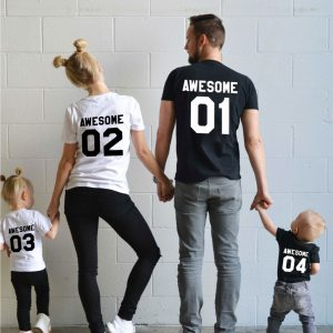 Awesome Family Shirts, Matching Family Shirts