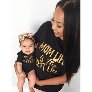 Mom Life Is The Best Life, Kid Life Is The Best Life, Matching Mommy and Me Shirts