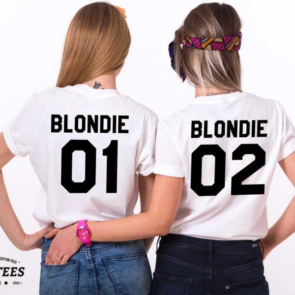 Blondie 01 Blondie 02, White/Black