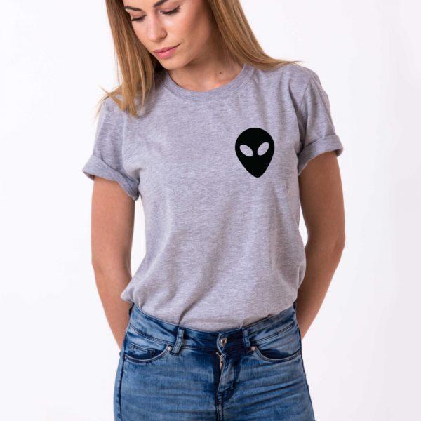 Alien Shirt, Gray/Black