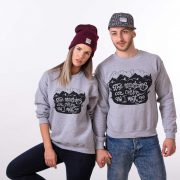 Nature Sweatshirts, The Mountains Are Calling and I Must Go Sweatshirt