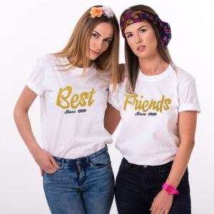 Best Friends Shirts, Matching Best Friends Since, Unisex