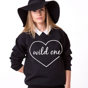 Mild One Wild One Sweatshirts, Matching Best Friends Sweatshirts
