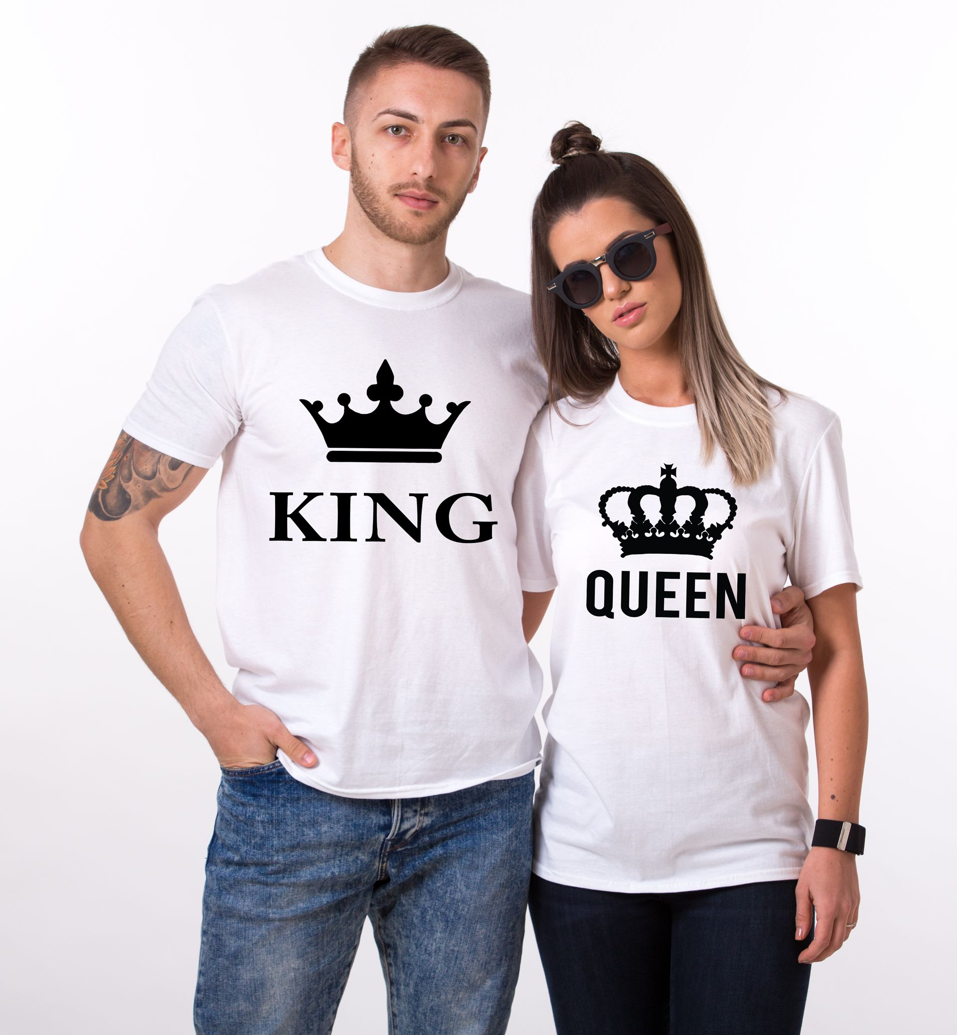 King Queen Couples Shirts Matching Shirts Couples T Shirt