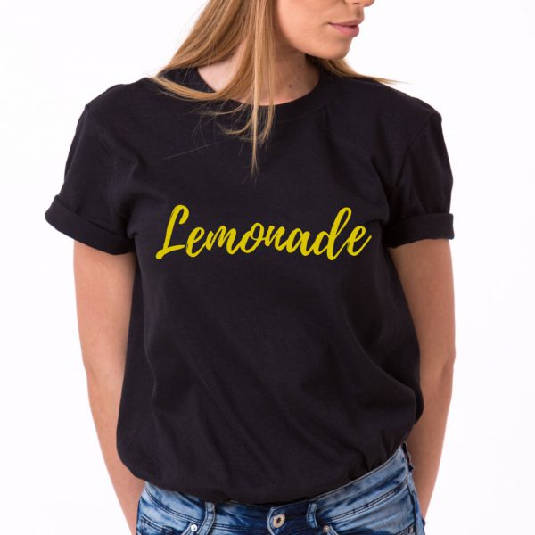 Lemonade Shirt, Black/Gold