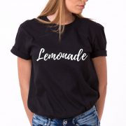 Lemonade Shirt, Black/White