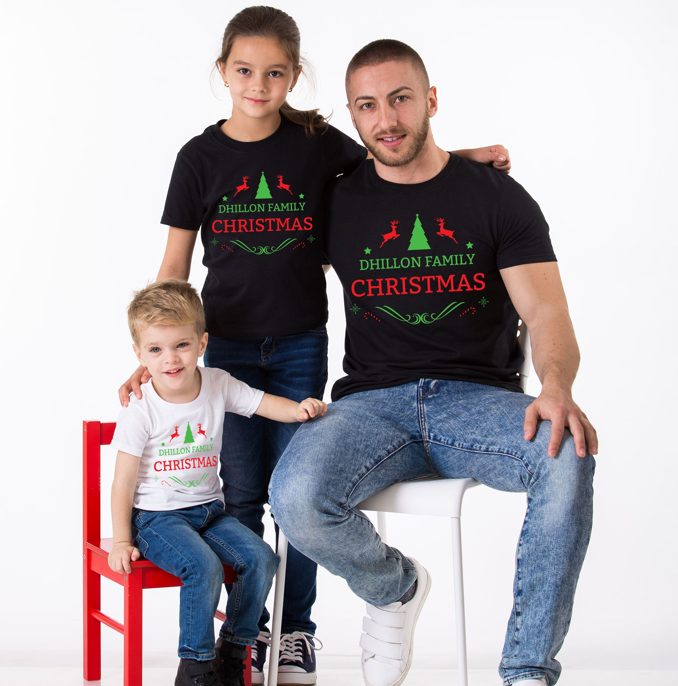 ca9080ea CUSTOM Name, Matching Family Christmas Shirts - Awesome Matching ...