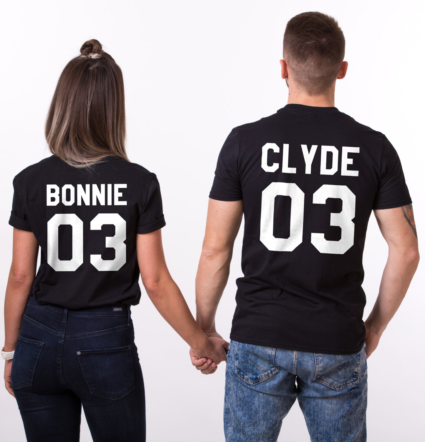 bonnie clyde 03 matching couples shirts unisex. Black Bedroom Furniture Sets. Home Design Ideas