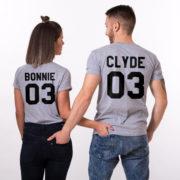 Bonnie 03 Clyde 03, Gray/Black, Gray/Black