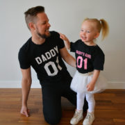 Daddy, Daddy's Girl, Matching Daddy Daughter Shirts