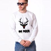 Oh deer, Deer sweatshirt, Oh deer sweatshirt, Christmas sweatshirt, Oh deer sweatshirt,  UNISEX 5