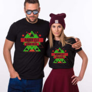 Daddy elf, Mommy elf, Christmas matching shirts, couples Christmas shirts, elf Christmas shirts, UNISEX 3