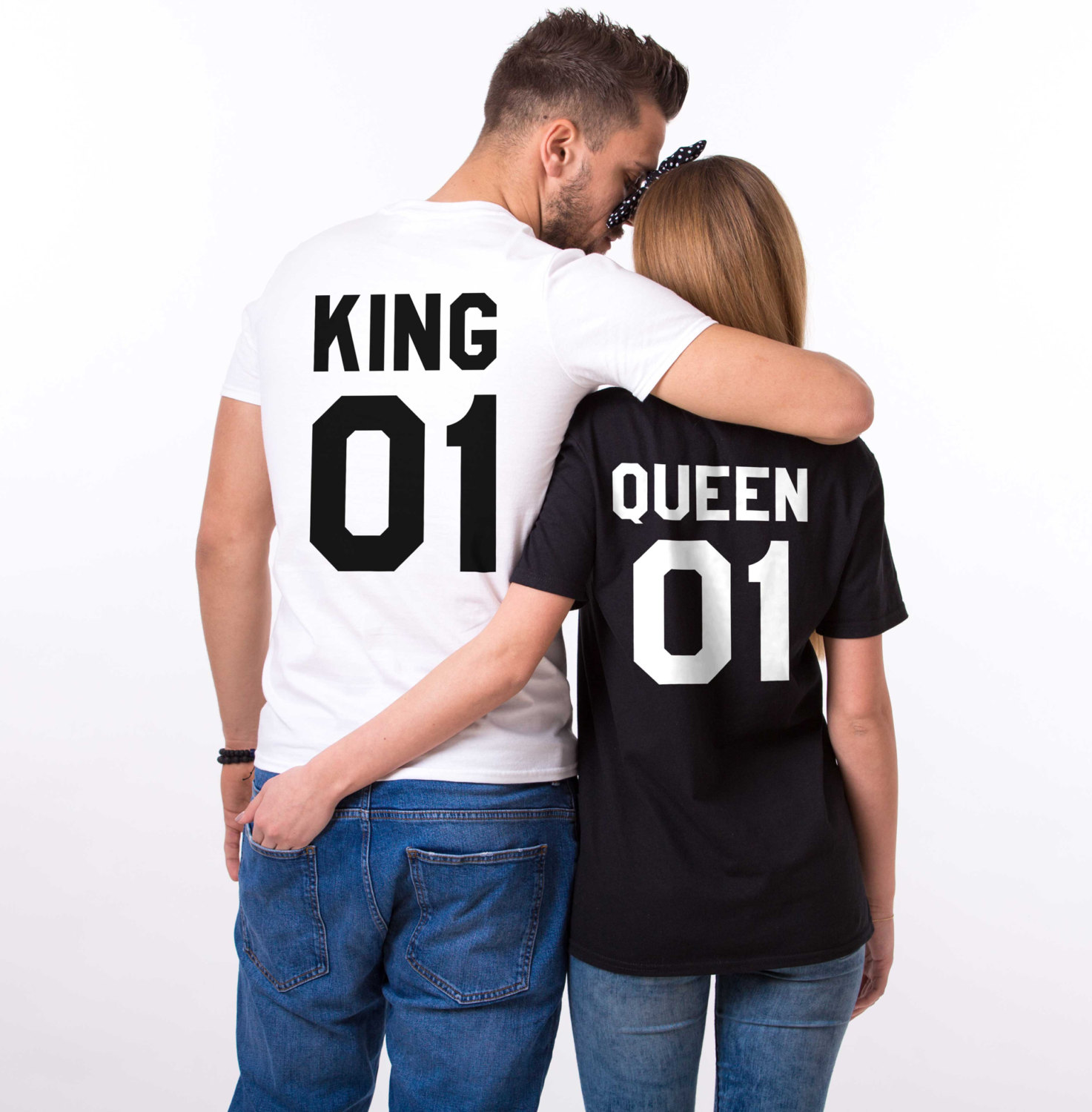 King Queen 01, Bestseller Matching Couple Shirts