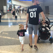 Daddy, Daddy's Girl, Black/Pink, Black/White