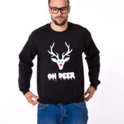 Oh deer, Deer sweatshirt, Oh deer sweatshirt, Christmas sweatshirt, Oh deer sweatshirt,  UNISEX 3