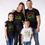 Christmas family shirts, Elf shirts, Elf shirt, Mama Elf, Papa Elf, Little Elf, Baby Elf, Elf family shirts, Christmas elf shirts, UNISEX