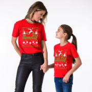 Christmas family shirts, Elf shirts, Elf shirt, Mama Elf, Papa Elf, Little Elf, Baby Elf, Elf family shirts, Christmas elf shirts, UNISEX 4