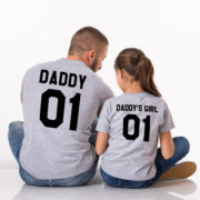 Daddy, Daddy's Girl, Gray/Black
