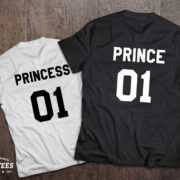 Prince princess shirts, Prince princess shirts for kids, UNISEX 2