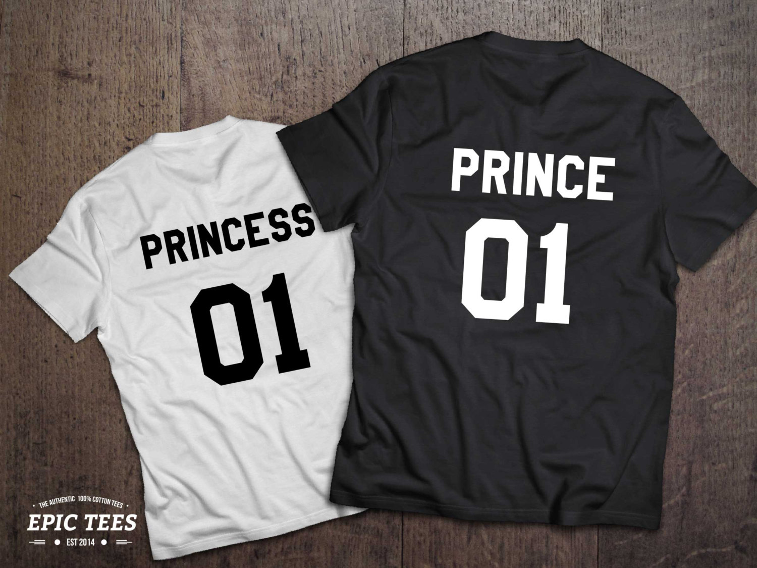 Prince, Princess, Matching Kids Shirts