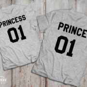 Prince princess shirts, Prince princess shirts for kids, UNISEX 3
