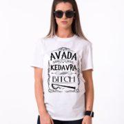 Avada Kedavra Bitch, White/Black