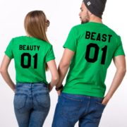 Beauty 01 and Beast 01, Green/Black